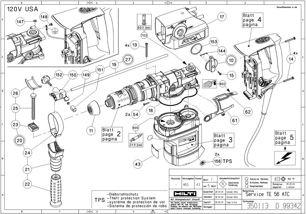 hilti te 17 parts diagram  hilti  free engine image for