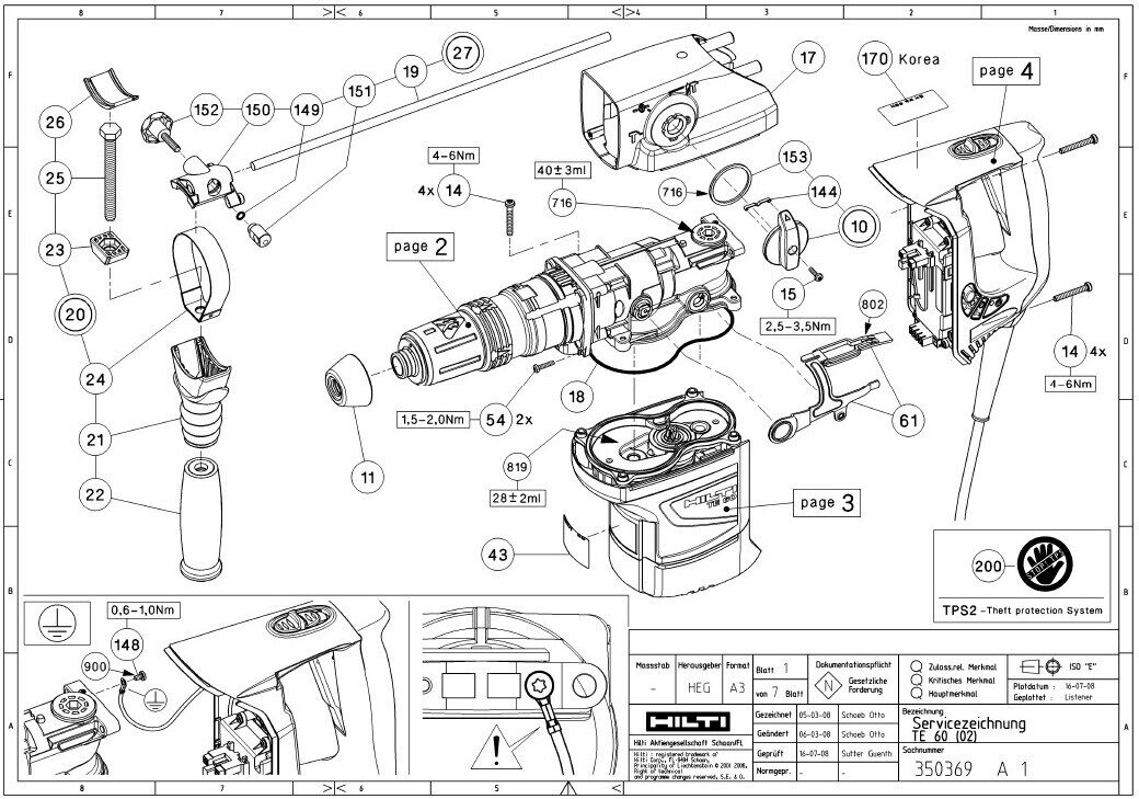 hilti parts manual  u2022 wiring and engine diagram