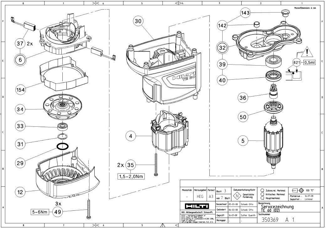Hilti Te 56 Parts Wiring Diagram And Fuse Box