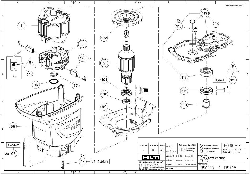 hilti te 70 parts diagram  hilti  free engine image for