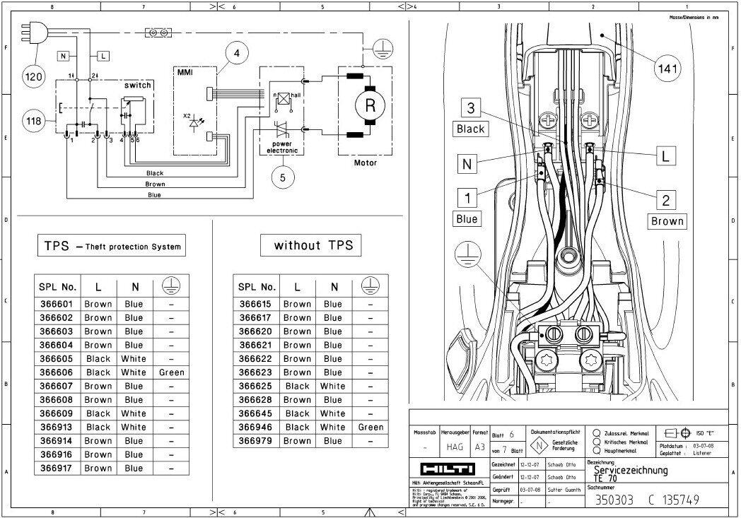 hilti parts manual